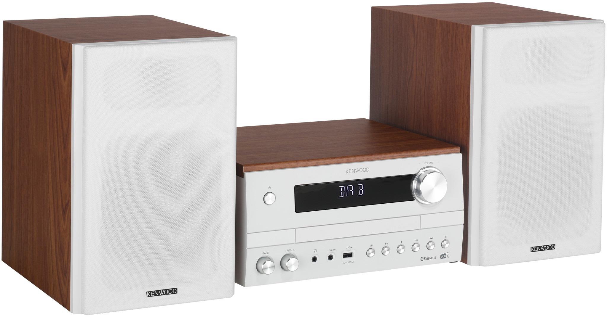 Kenwood stereo set M820DAB wit