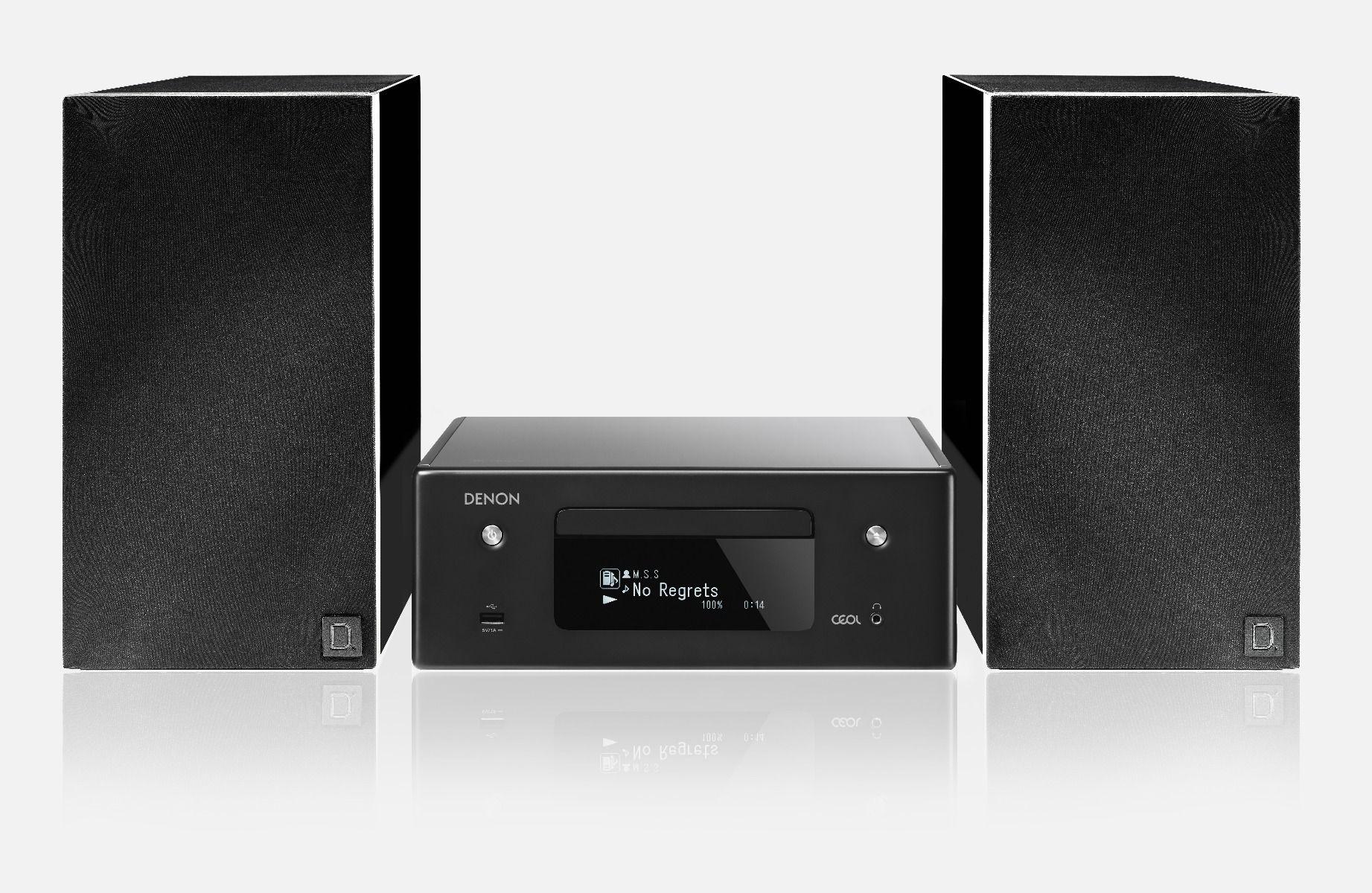 DoubleDeal: Denon RCD-N10 + Definitive Technology Demand D7 - Zwart