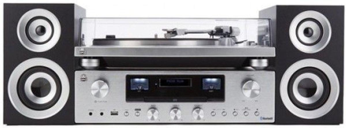 GPO PR200 Premium Line HiFi systeem met DAB+ radio, CD, USB en Bluetooth