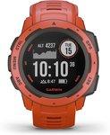 Garmin Instinct GPS - Smartwatch - Flame Red - 45mm
