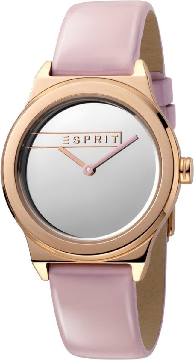 Esprit ES1L019L0045 horloge dames - roze - edelstaal PVD Ros?