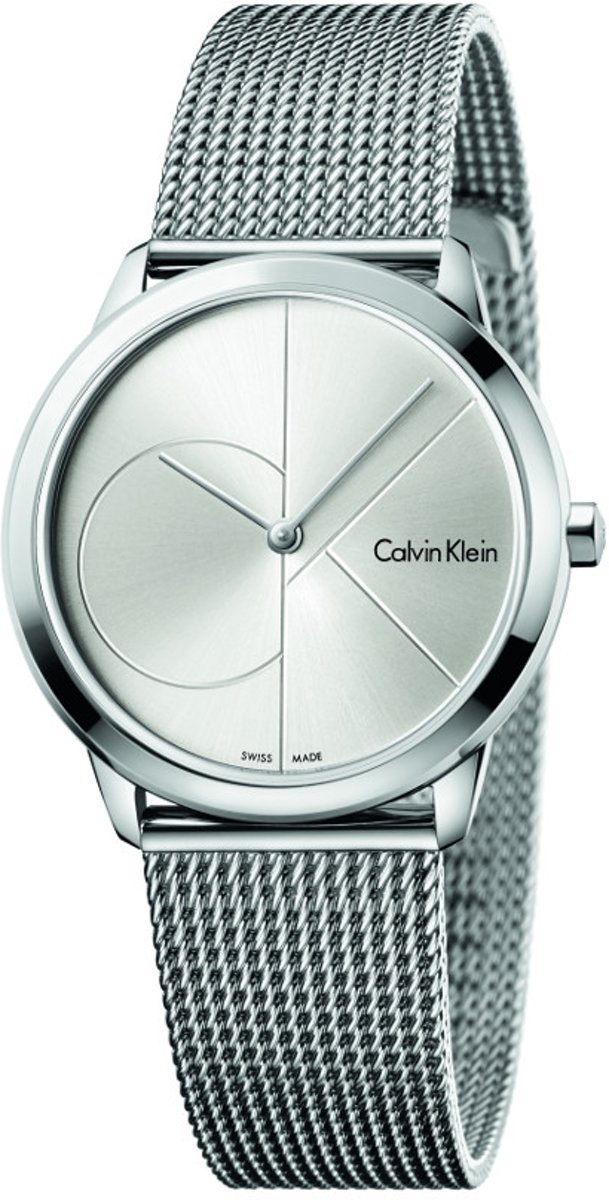 Calvin Klein Minimal Extension Horloge  - Zilverkleurig