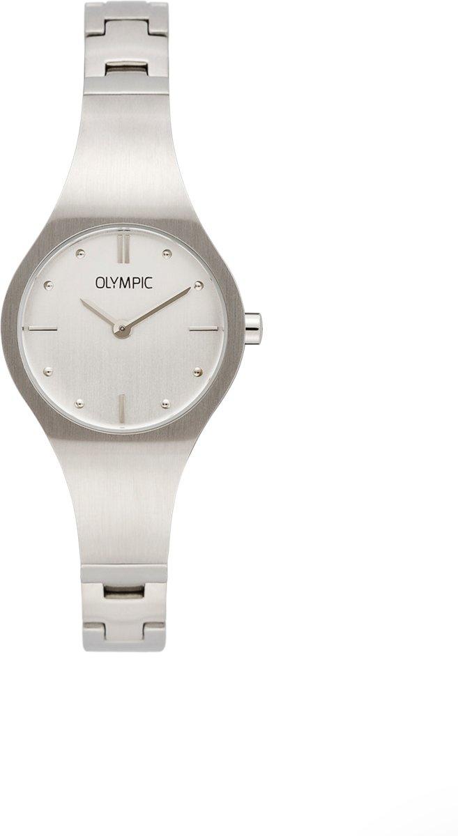 Olympic OL88DSS002 Horloge - Staal - Zilverkleurig - 26 mm