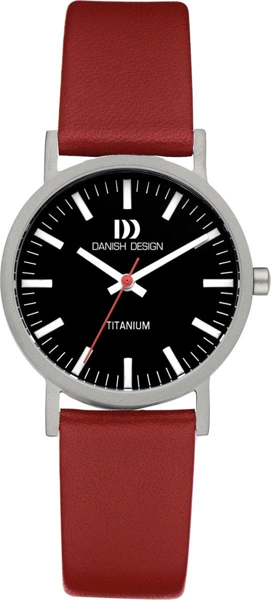 Danish Design Gl?be Rhine horloge  - Rood