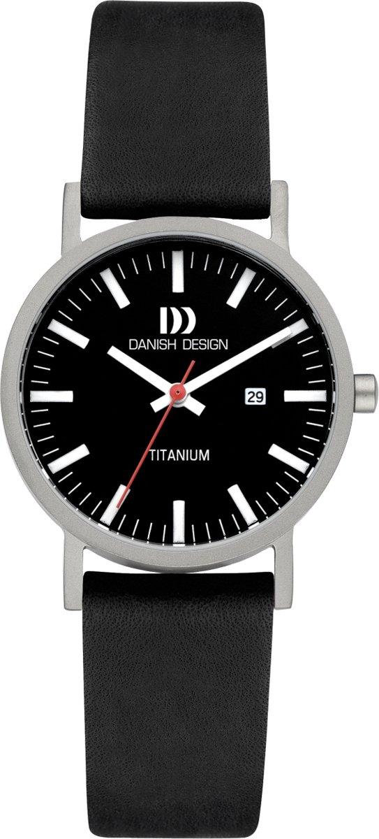 Danish Design Gl?be Rhine horloge  - Zwart