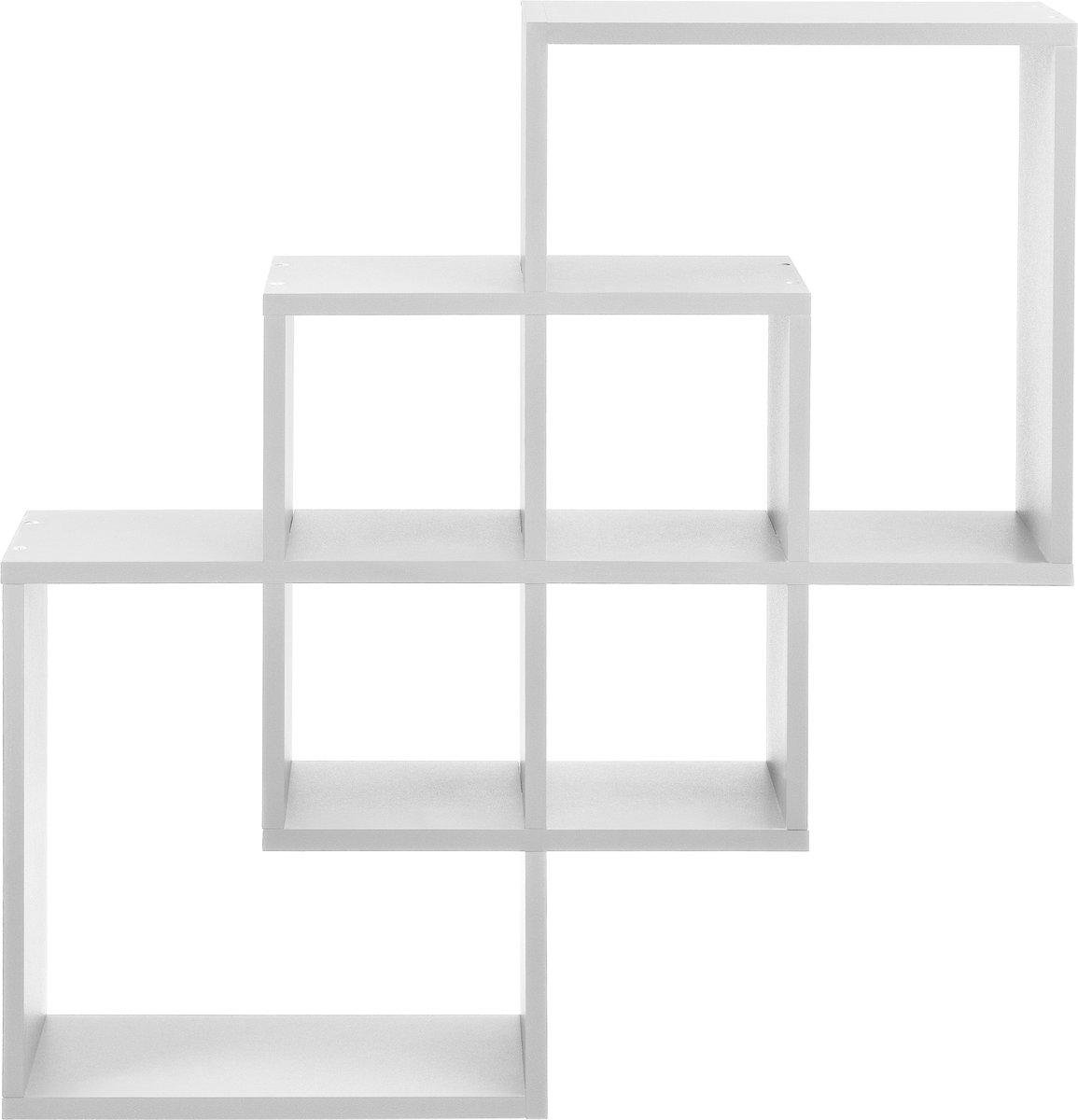 [en.casa]? Design wandplank - planken - wit model 3