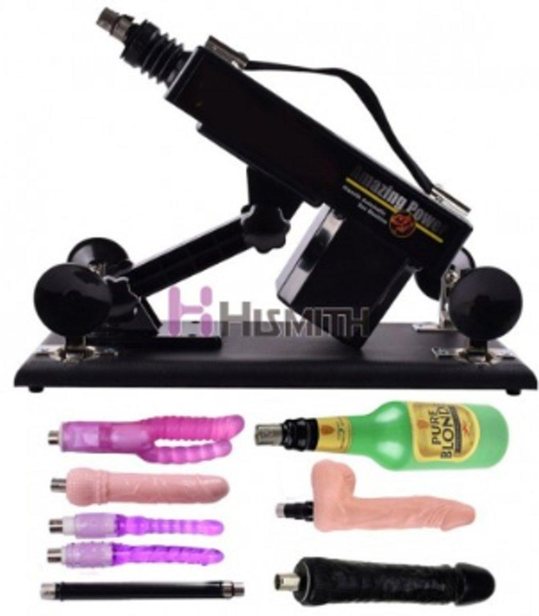 Hismith BASIC - Seks machine - Pakket Donald - Sexmeubel - SeksMachine - Met dildo en vele extra's
