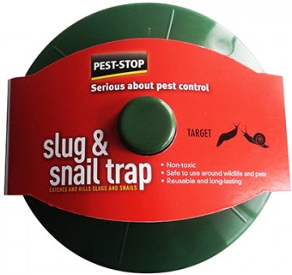 PEST STOP Slug & Snail Trap Slakkenval Lokstof 1 stuks