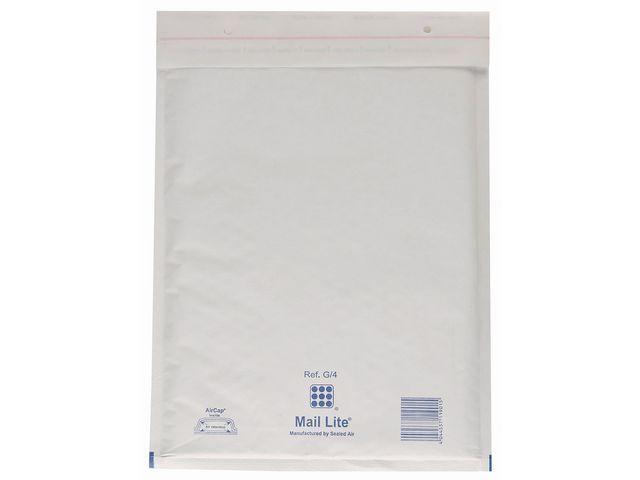 Mail Lite? Luchtkussenenveloppen nr 20: 350 x 470 mm (doos 50 stuks)