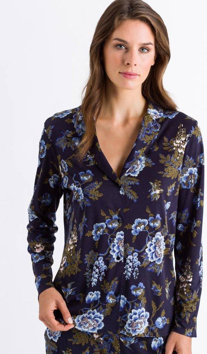Hanro  Zahra Pyjama 076396/076399 Blue