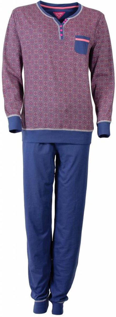 Irresistible Dames Pyjama Blauw Maten: S