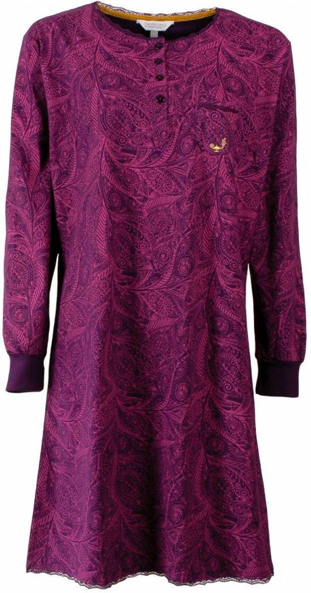 Tenderness Dames Nachthemd paars Maten: M
