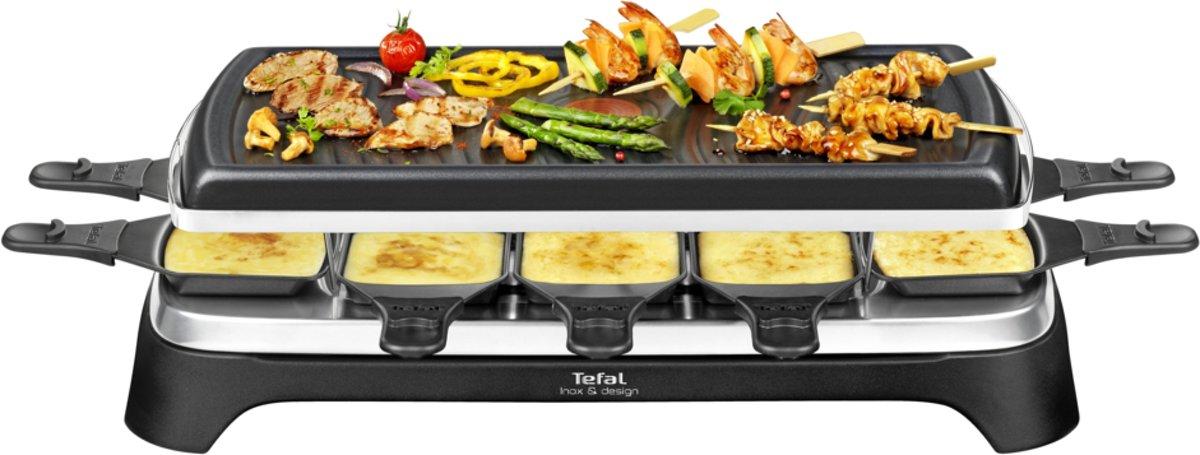 Tefal Inox RE4588 - Gourmetset - 10 Personen