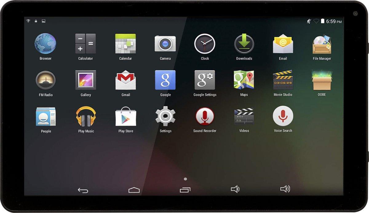 Denver TAQ-10253 10.1 inch Quad Core tablet met 16GB geheugen en Android 8.1GO