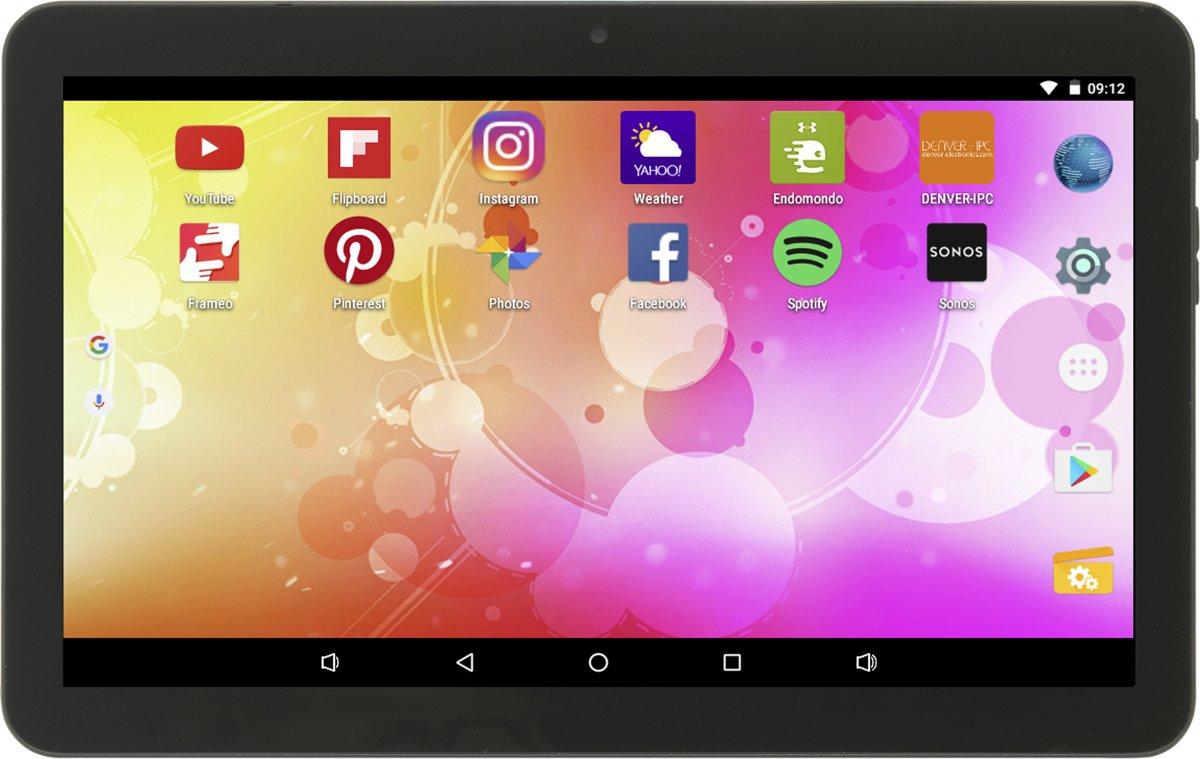 Denver TAQ-10403G - 10.1 inch - WiFi + 3G - 16GB - Zwart