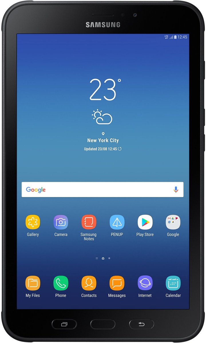 Samsung Galaxy Tab Active 2 - 8 inch - WiFi + 4G - 16GB - Zwart