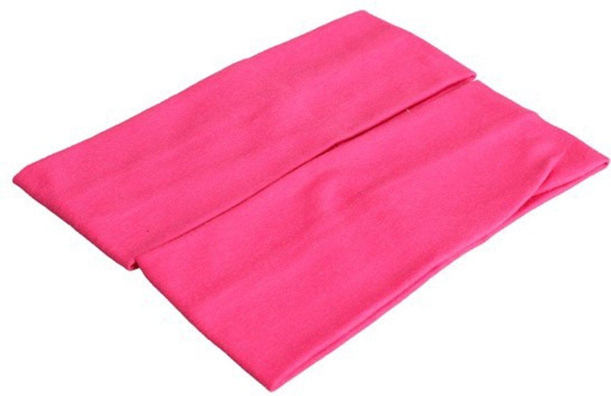 Roze One Size Unisex Sport Bandana
