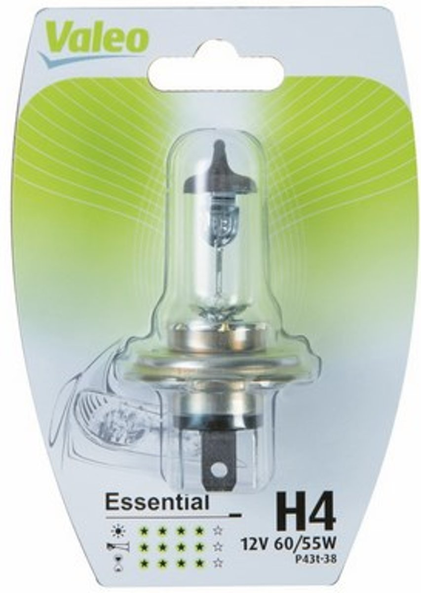 Valeo H4 12V Auto lamp koplamp autolamp