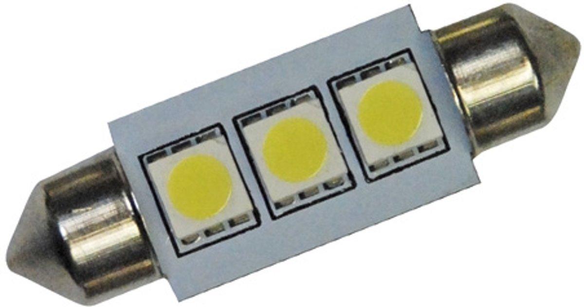 Foliatec Autolamp C5w Smd Led 38 Mm 12 V 0,72 W Blauw Per Stuk
