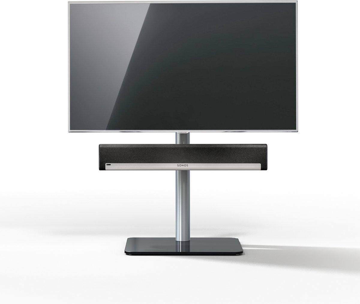 Spectral Just-Racks TV600SP-BG (zwart glas) tv standaard voor 40
