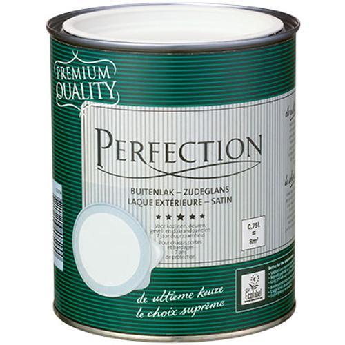 Perfection buitenlak zijdeglans RAL 9010 750ml