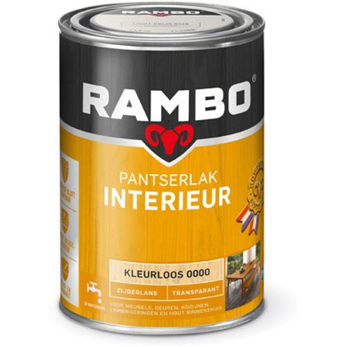 Rambo pantserlak interieur transparant zijdeglans kleurloos 1250ml