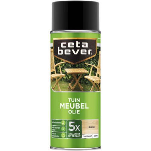 CetaBever Tuinmeubelolie Blank Zijdemat 0,4L