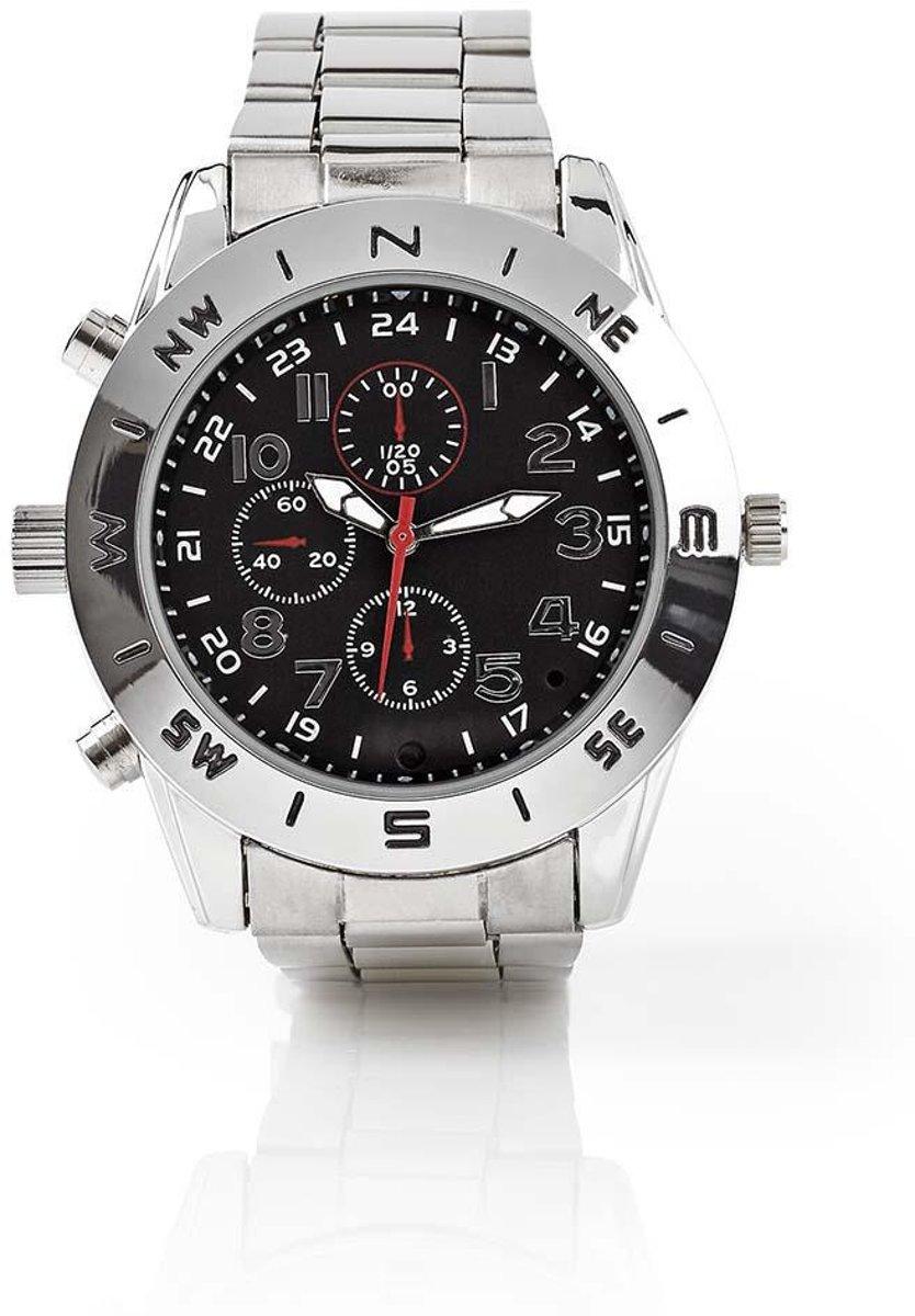 Spy Camera Wrist Watch | 720 x 480 Video | 1280 x 1024 Photo | 8Gb Memory | Rechargeable