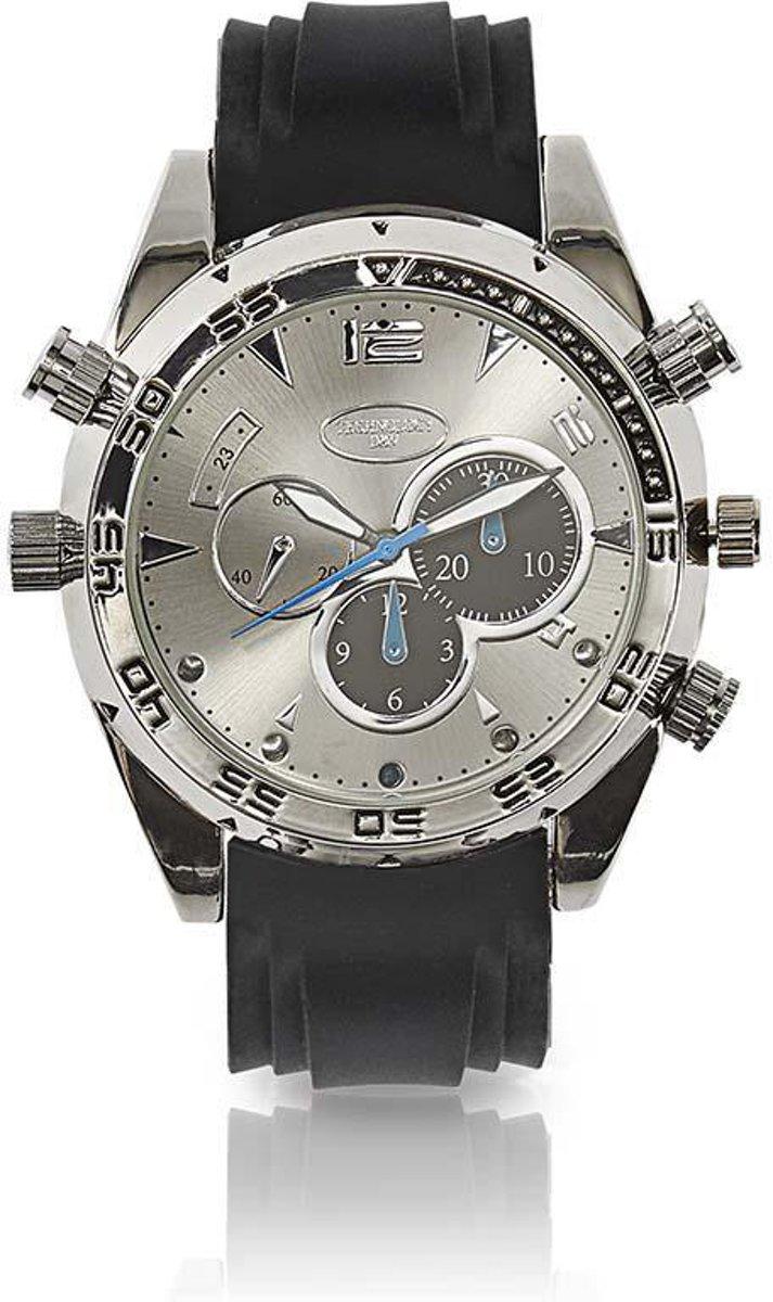 Spy Camera Wrist Watch | 1920 x 1080 Video | 2560 x 1440 Photo | 16Gb Memory | Rechargeable