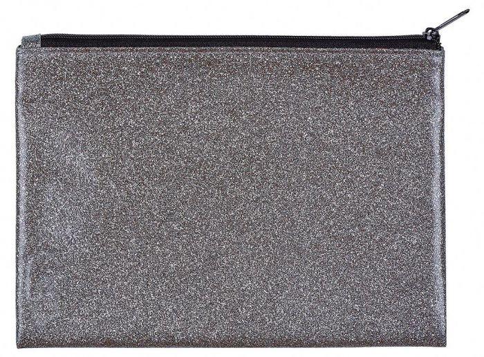 Moses Etui glitter grafiet 21 x 15,5 cm