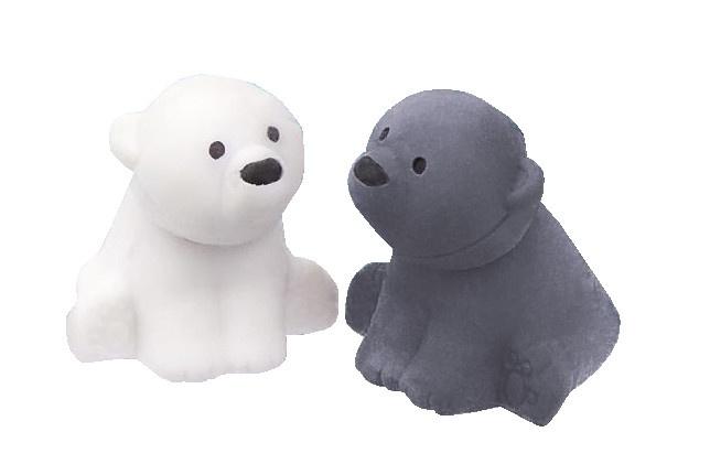 Moses Gummenset ijsbeer grijs/wit