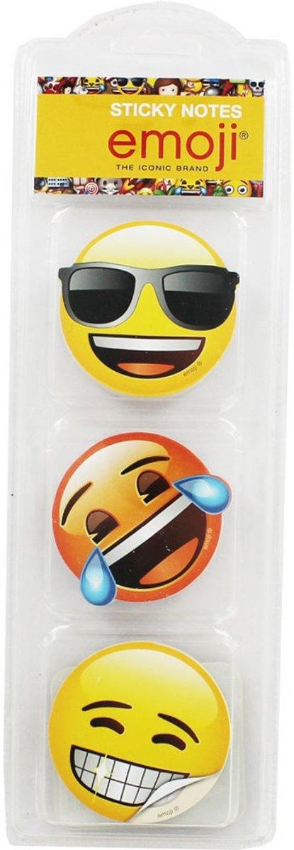 Emoji memoblokken 3 stuks