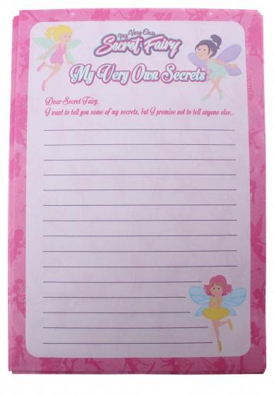 PMS Memoblaadjes Geheimen voor mijn Fee A5 roze 25 stuks