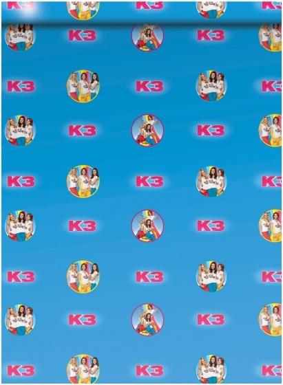 Studio 100 kaftpapier K3 70 x 100 cm 2 stuks blauw