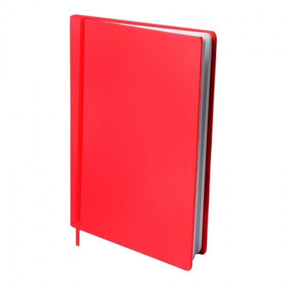 Dresz elastische boekenkaft A4 textiel/elastaan rood