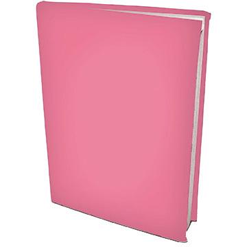 rekbare boekenkaft A4 Pink