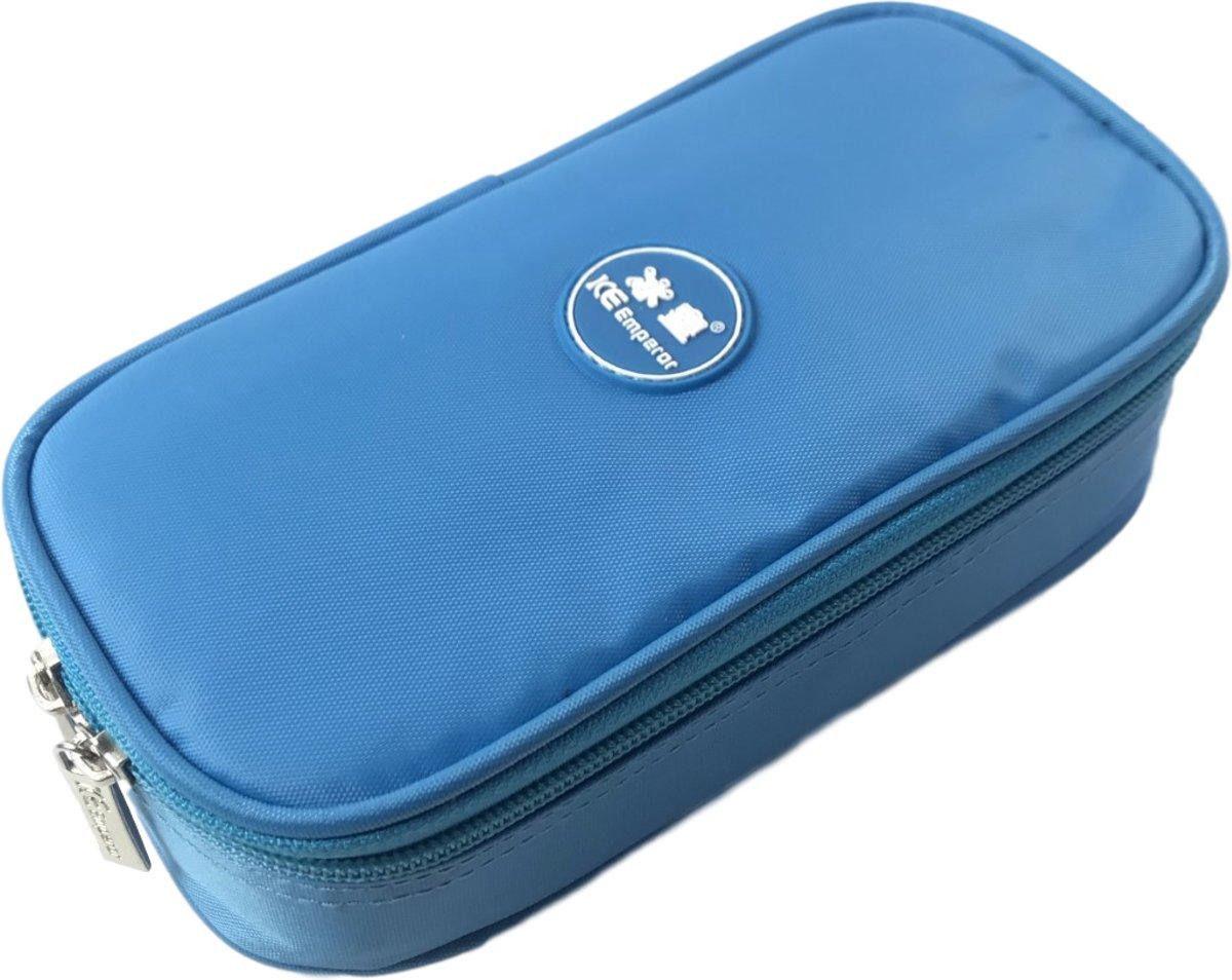 Koeltas LICHTBLAUW Opbergtas voor Insuline Spuiten / Prikpennen voor Diabetes | Ideaal voor vakantie en op reis | Gekoelde opslag bij suikerziekte | Compacte opslag voor Diabetis benodigdheden | Isoleert prima | Met Thermo