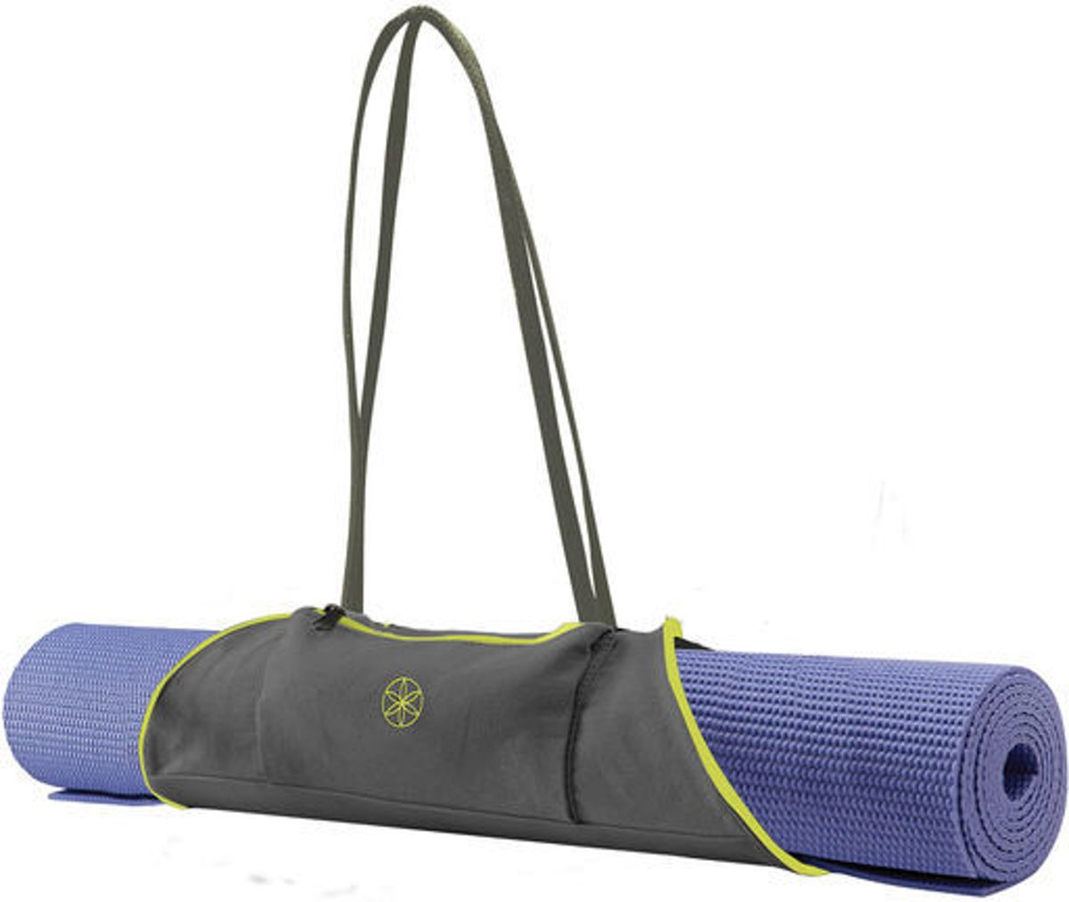 Gaiam Yoga Mat Draagtas - Citron / Storm