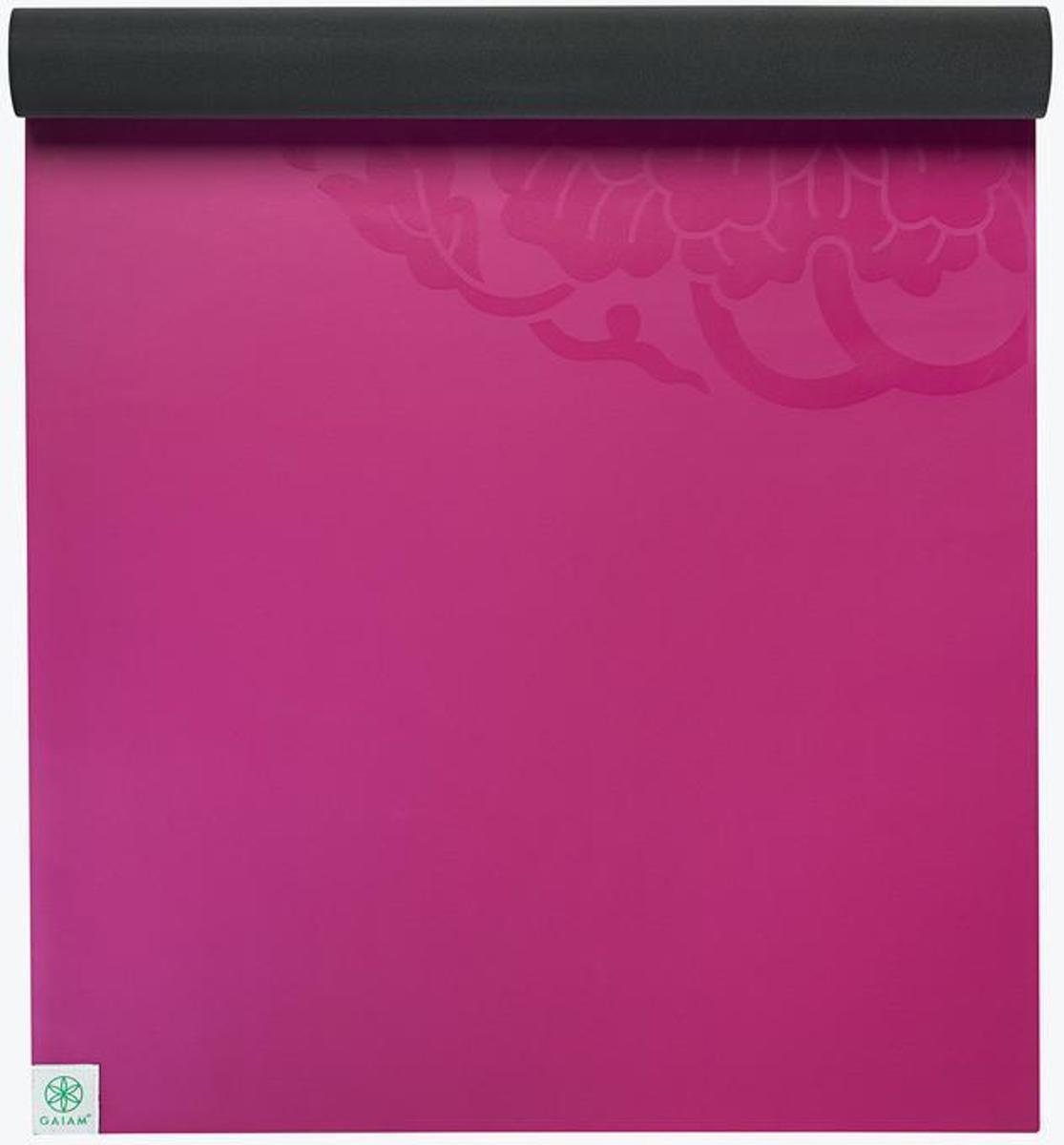 Gaiam Studio Select Dry Grip Reis - Yogamat - 2mm - Roze