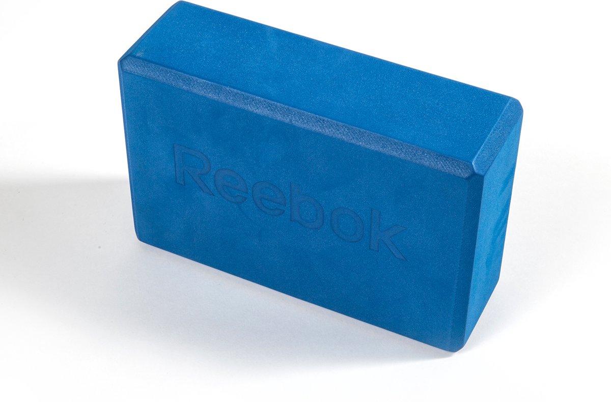 Reebok yoga blok - Blauw - 22,5x15x7,6cm - EVA foam
