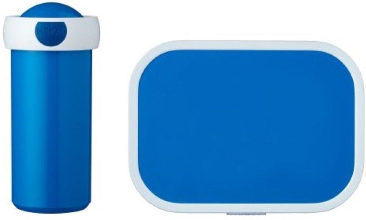 Mepal Campus Lunchset Schoolbeker en Lunchbox - Blauw