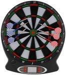 PLAYFUN Elektronisch Dartbord   Elektronisch Dartbord voorzien van LCD scherm waarop de score wordt bijgehouden