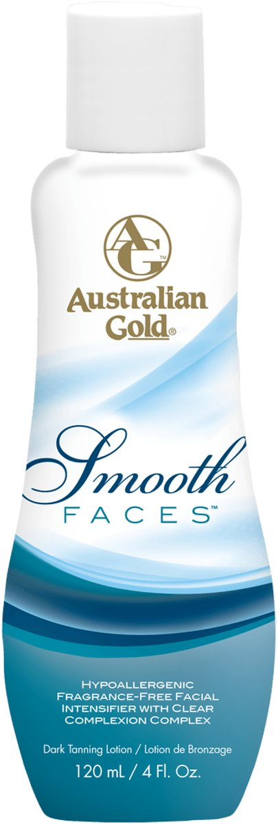 Australian Gold Smooth Faces - 120 ml - bronzer en anti-aging dagcrème in 1