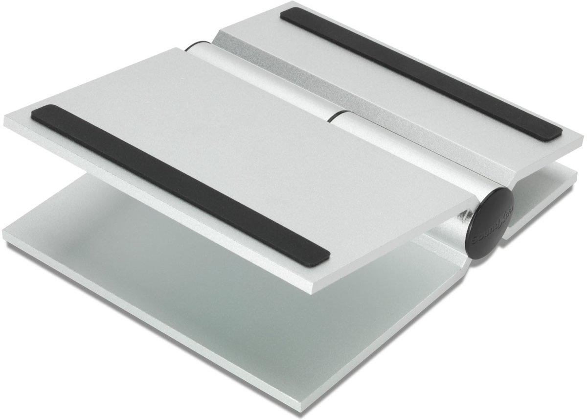 SoundXtra UNIDSS2091 Tafel Aluminium Zilver speaker steun