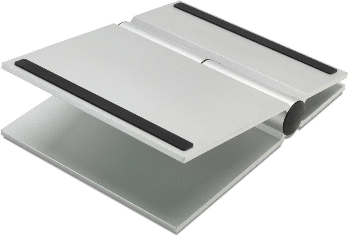 SoundXtra UNIDSL2091 speaker steun Tafel Aluminium Zilver
