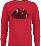 Vingino Meisjes Shirt - Classic Red - Maat 164