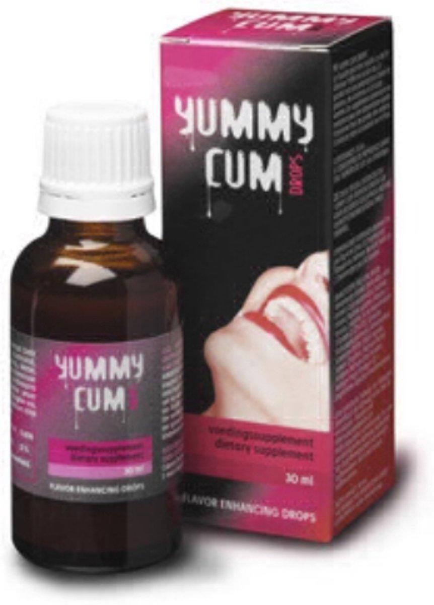 Cobeco Yummt Cum Drops - 30 ml - Libido Stimulerend Middel