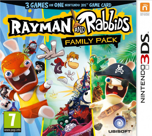 Rayman and Rabbids Family Pack