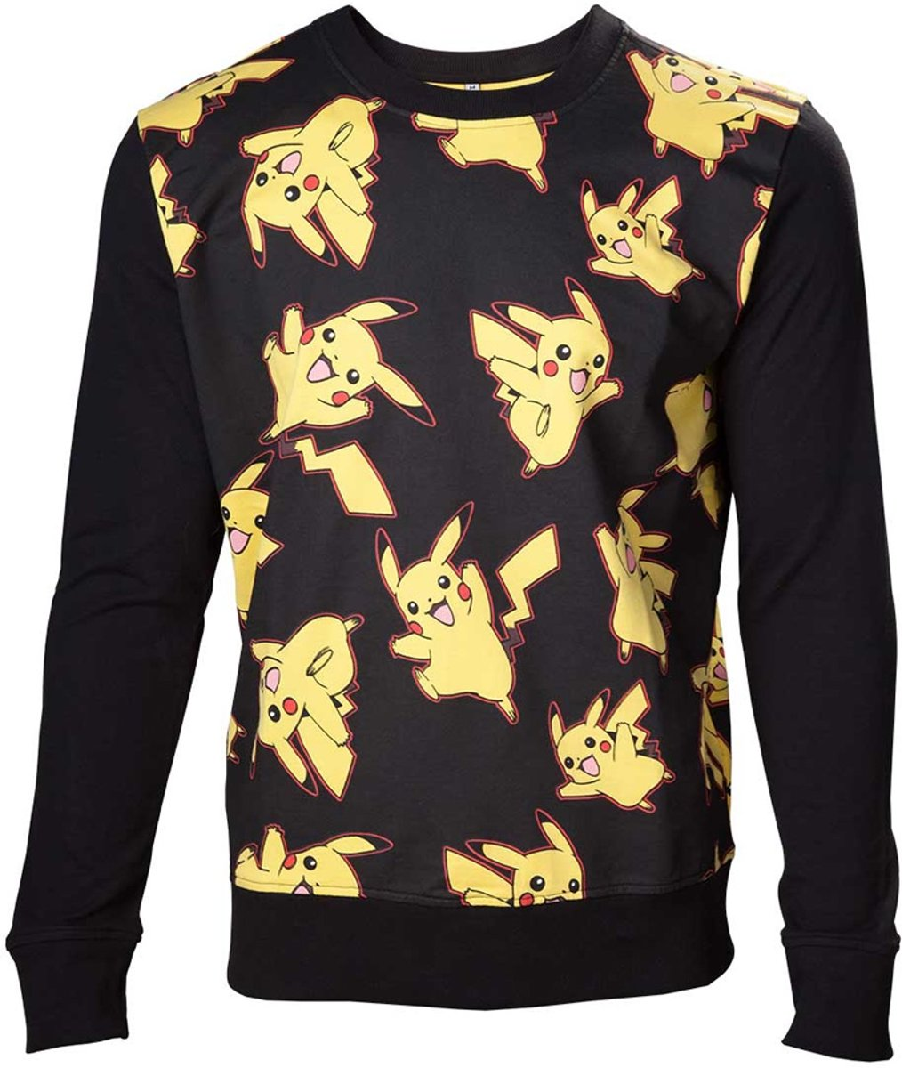 Pokemon - Pikachu All Over Print Sweater