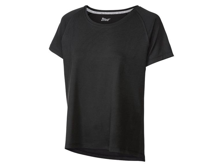 2 dames sportshirts XS (32/34), Blauw/zwart